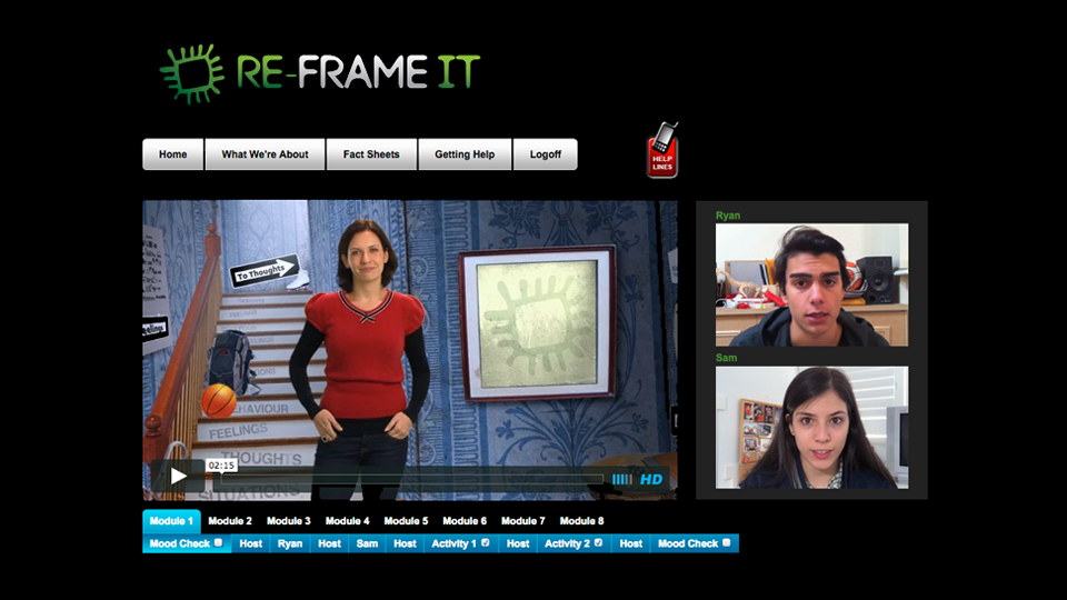 Orygen Youth Health – Re-Frame IT Online Therapy